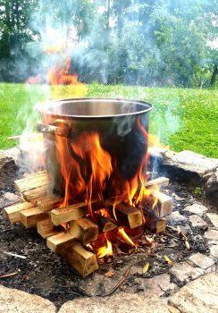 Neue Termine  Outdoor-Kochkurse